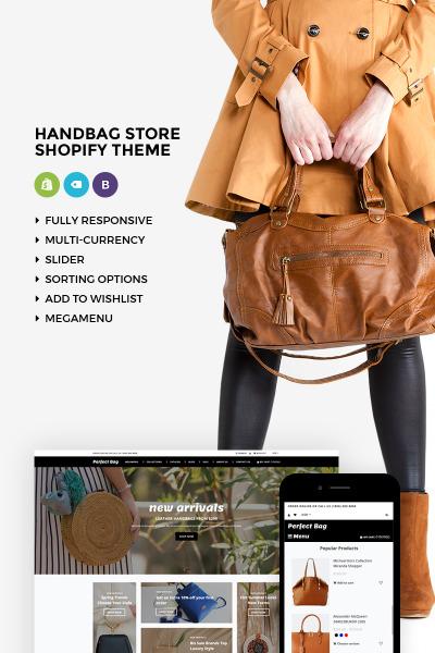 Perfect Bag - Elegant Online Handbag Store Shopify Theme #73610