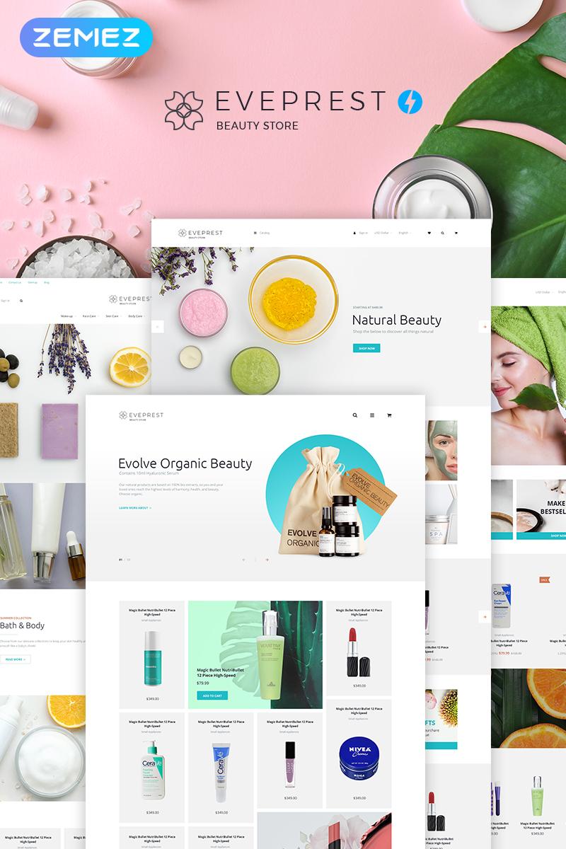 Responsywny szablon PrestaShop Eveprest Beauty 1.7 - Beauty Store #73693 - zrzut ekranu