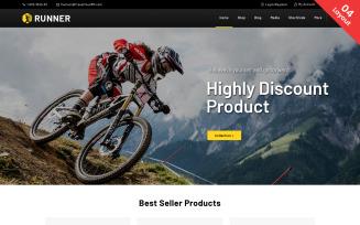 Runner - Sports and Multipurpose WooCommerce Theme