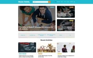 Student Activities Joomla Template