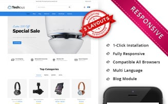 Techous Multistore - Responsive WooCommerce Theme