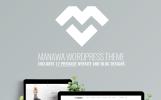 "Template WordPress Responsive #73603 ""Manawa - Multi-Purpose WordPress Theme"""