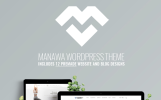 "WordPress шаблон ""Manawa - Multi-Purpose WordPress Theme"""