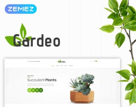 Gardeo - Garden Equipment Elementor WooCommerce Theme