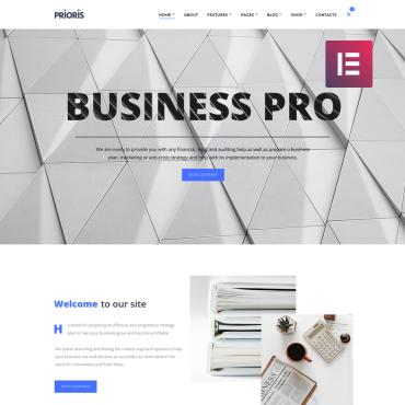 Купить  пофессиональные WordPress темы. Купить шаблон #73734 и создать сайт.