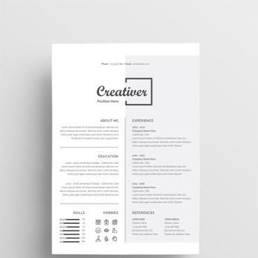 Preview image of Creativer CV