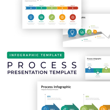 Preview image of Process Presentation - Infographic