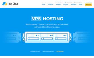 Host Cloud Website Template
