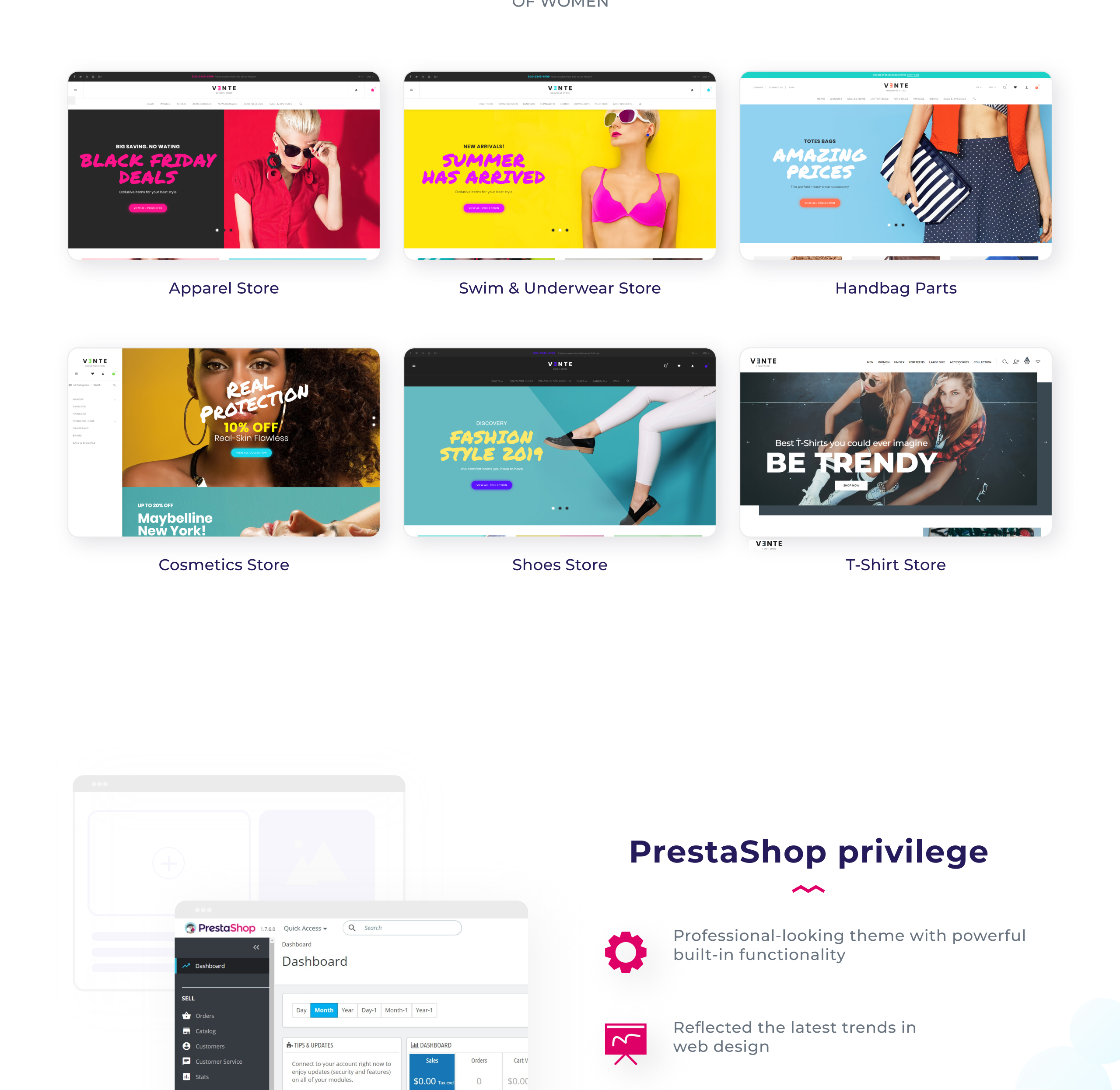 Website Design Template 73782 - swimwear