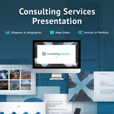 Preview image of Business Slides - Consulting Services