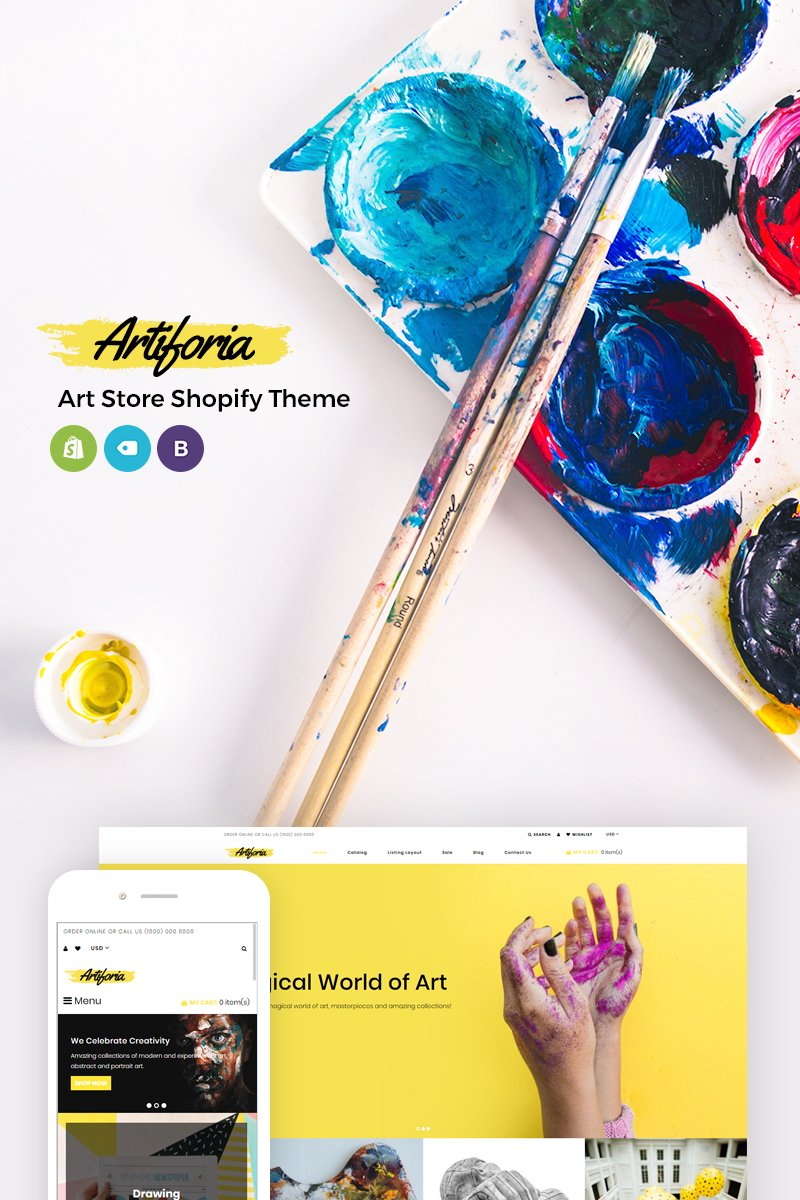 Artiforia - Art Store Shopify Theme
