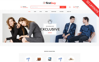 Firstbuy - Electronics and Fashion WooCommerce Theme