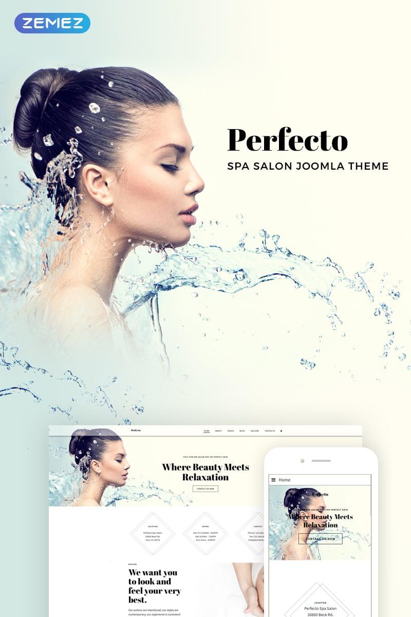 "Joomla Vorlage namens ""Perfecto - Spa Salon"" #73779"