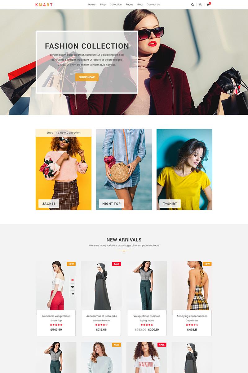 KMART – Multipurpose e-Commerce PSD Template