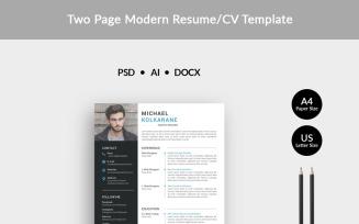 Kolkarane Modern Resume Template