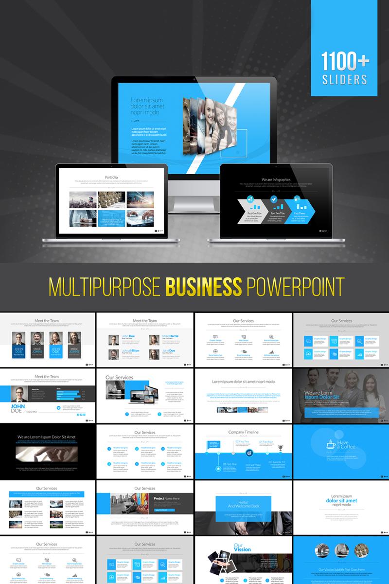 "PowerPoint Vorlage namens ""Bravo | Multipurpose Business"" #73702"
