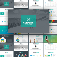 nice simple powerpoint templates template monster