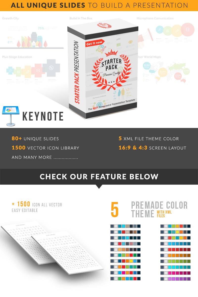 Starter Pack Presentation Keynote Template