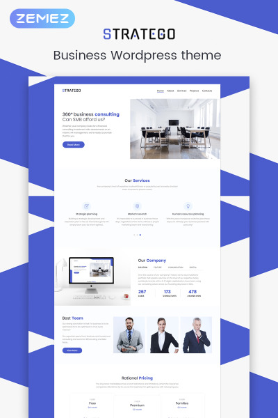 Stratego - Business Elementor