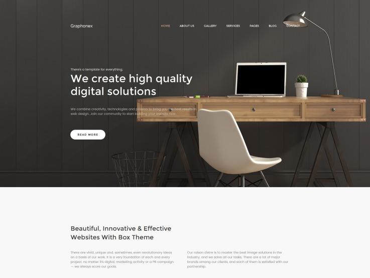 Design Studio Website - Graphonex - main image