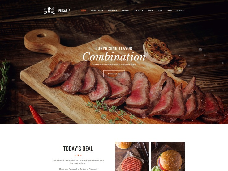Bbq Website Design - Pugarie - main image