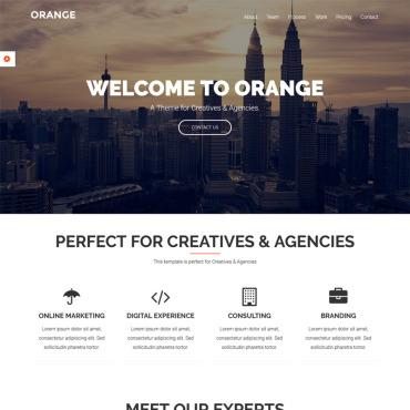 Купить  пофессиональные WordPress темы. Купить шаблон #73816 и создать сайт.