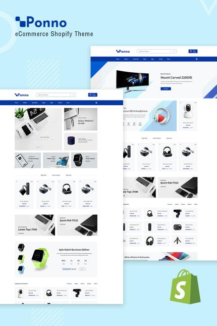 Website Template 73817 Business Technology Minimalist Custom