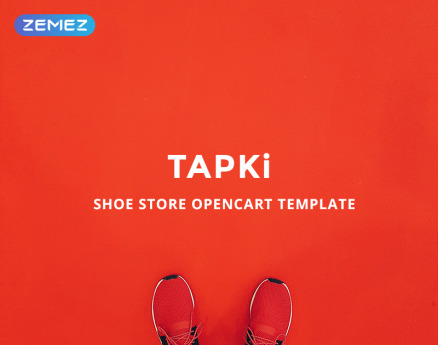 TAPKi - Shoe Store OpenCart Template