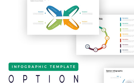 Option Presentation - Infographic PowerPoint Template