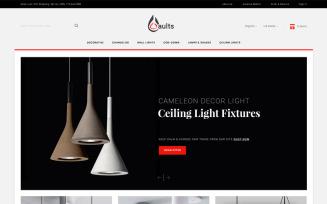 Aults Lighting Store PrestaShop Theme