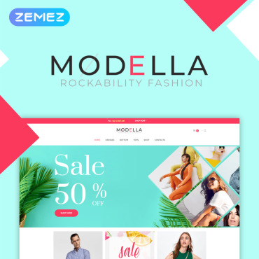 Preview image of Modella - Fashion Store Elementor