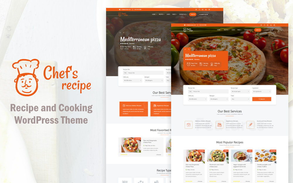 Chef's Recipe - Food & Recipe №73859