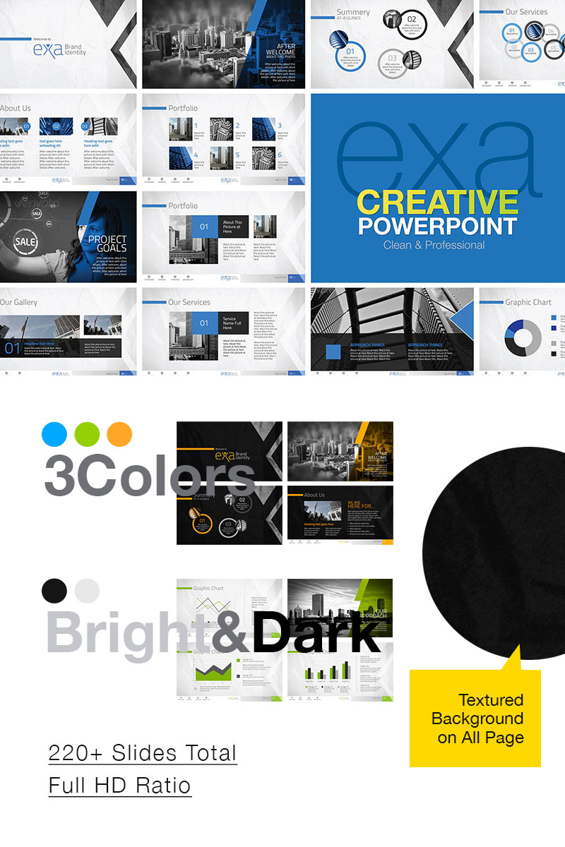 Classic Multipurpose PowerPoint Template - screenshot
