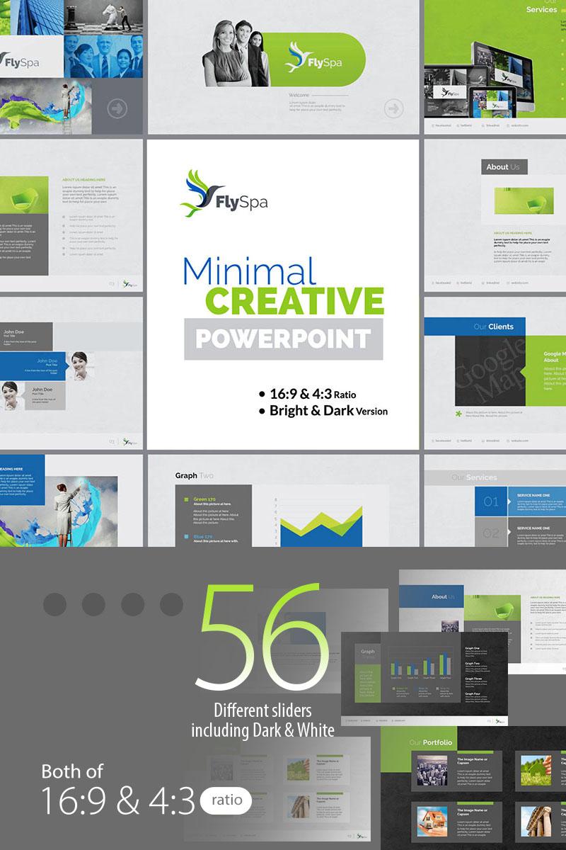 """FlySpa   Multipurpose Business"" PowerPoint Template №73896 - screenshot"