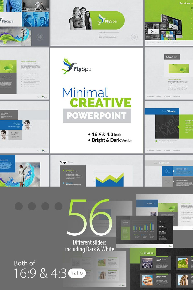 FlySpa | Multipurpose Business PowerPoint Template