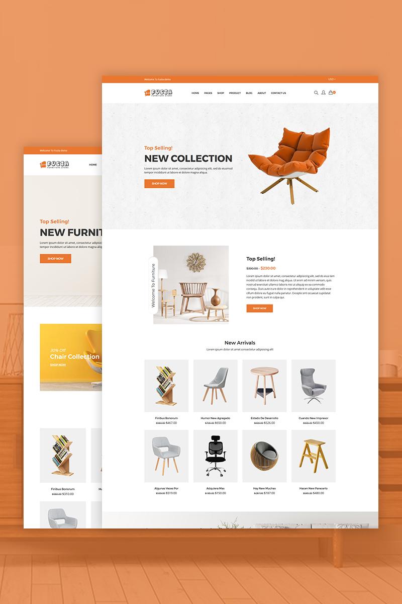 Fusta - Furniture Tema de Shopify №73872