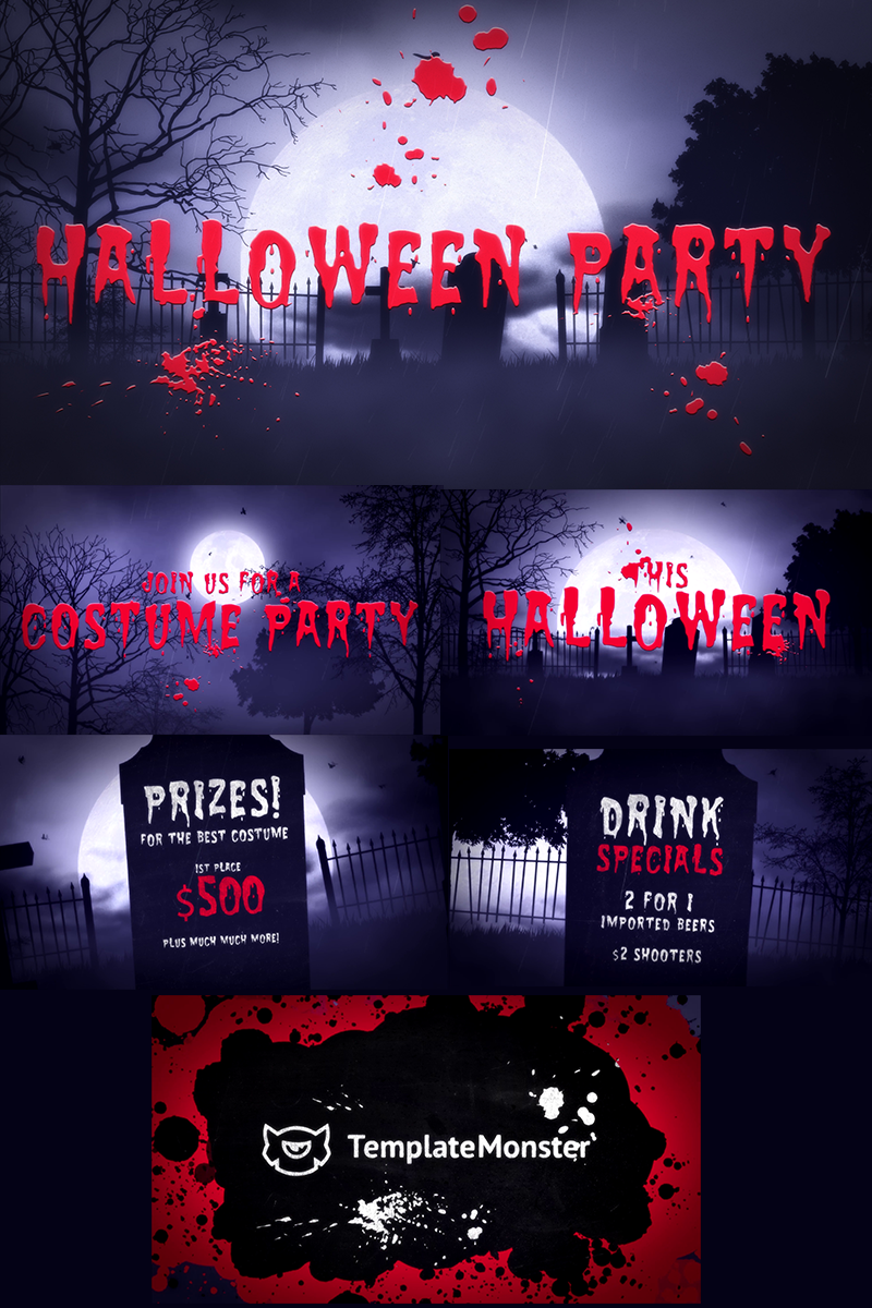 """""""Halloween Party"""" after Effects Intro  #73899 - screenshot"""