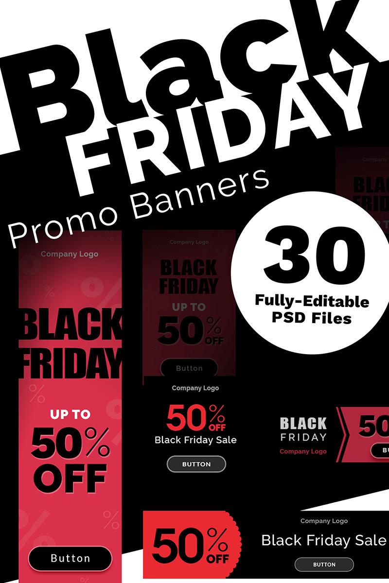 "Modello Bundle #73850 ""Black Friday Promo Banners"""