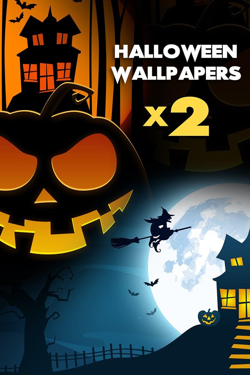"Modello Illustrazione #73853 ""Halloween Desktop Wallpapers"" - screenshot"