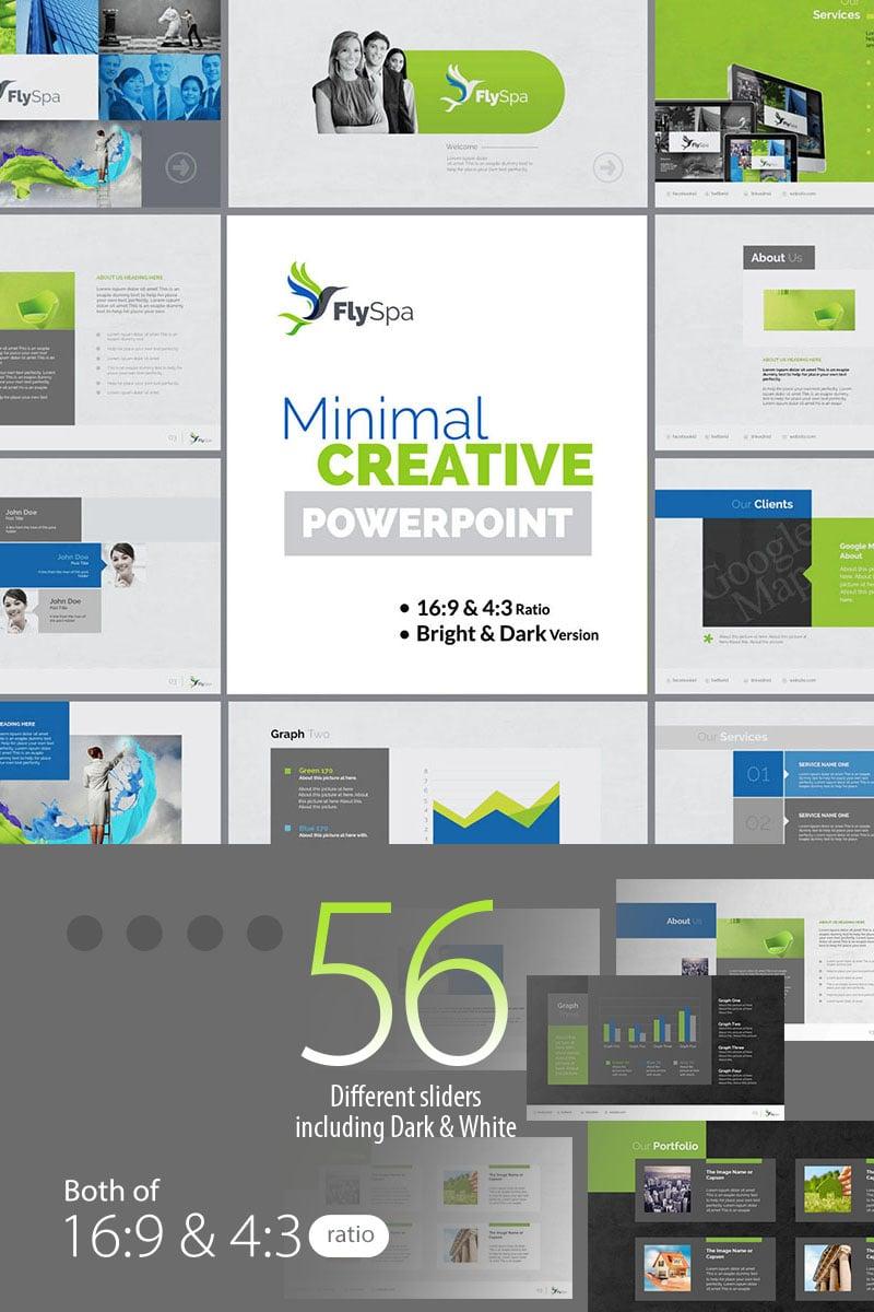 "Plantilla PowerPoint ""FlySpa   Multipurpose Business"" #73896"