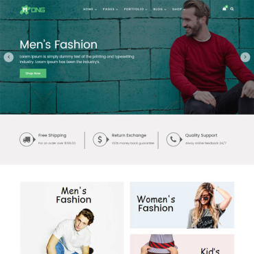 Купить  пофессиональные WooCommerce шаблоны. Купить шаблон #73970 и создать сайт.