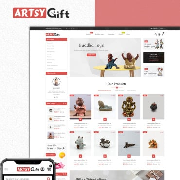Preview image of Artsygift- Gift store