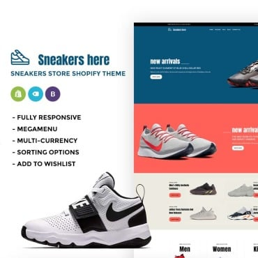 Купить  пофессиональные Shopify шаблоны. Купить шаблон #73981 и создать сайт.