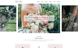 Bon Bon - Wedding Agency Joomla Template