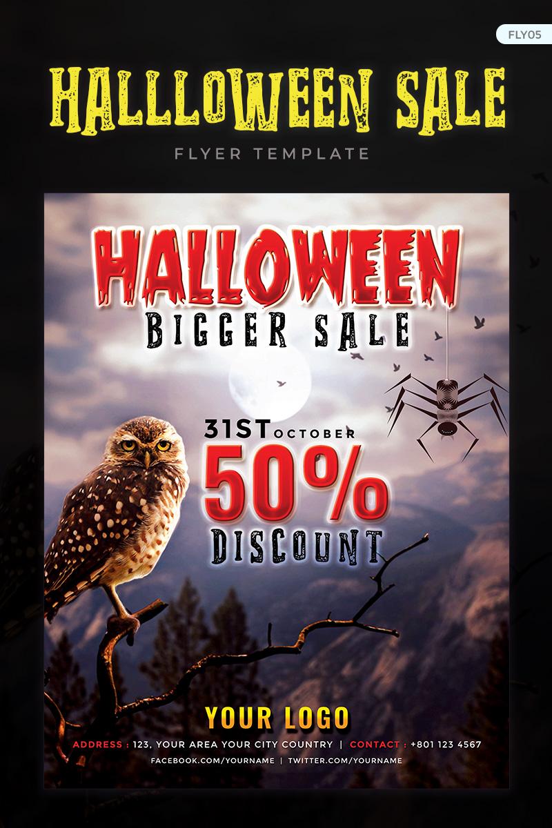 """""""Halloween Bigger Sale Flyer"""" design d'Entreprise  #73909 - screenshot"""