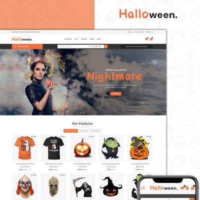 Responsives PrestaShop Theme für Halloween