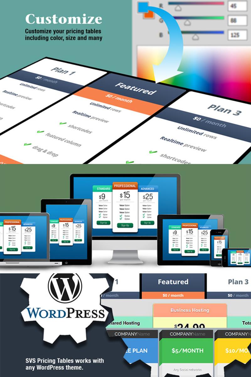 Pricing Table Plugin WordPress №73976