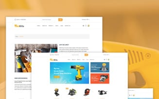 Toolkits - Tools, Equipment Store Shopify Theme