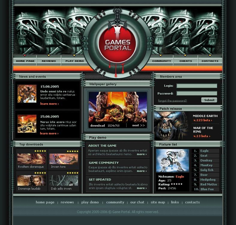 spiele für website