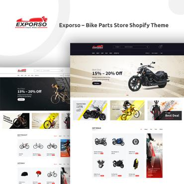 Preview image of Exporso - Bike Parts Store